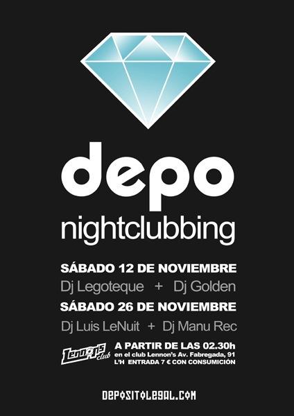DJ Golden: Nightclubbing - Noviembre - 2011