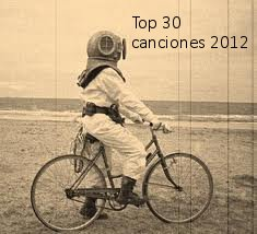 Escafandrista Top 30 canciones 2012